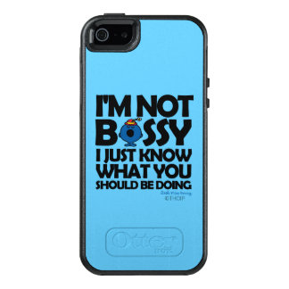Little Miss Bossy Just Knows OtterBox iPhone 5/5s/SE Case