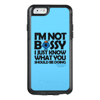 Little Miss Bossy Just Knows OtterBox iPhone 6/6s Case
