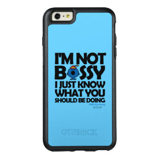 Little Miss Bossy Just Knows OtterBox iPhone 6/6s Plus Case
