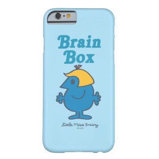Little Miss Brainy | Brain Box Barely There iPhone 6 Case