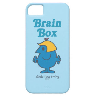 Little Miss Brainy | Brain Box iPhone 5 Covers