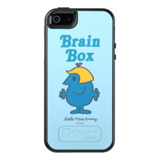 Little Miss Brainy | Brain Box OtterBox iPhone 5/5s/SE Case