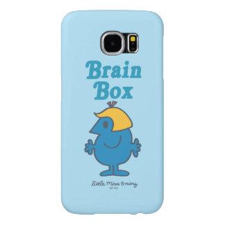 Little Miss Brainy | Brain Box Samsung Galaxy S6 Cases