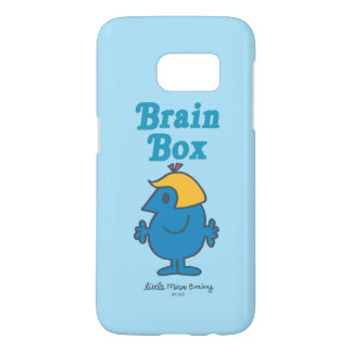 Little Miss Brainy | Brain Box Samsung Galaxy S7 Case