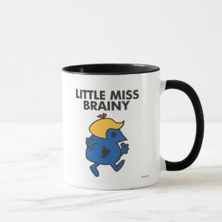 Little Miss Brainy On The Move Mug