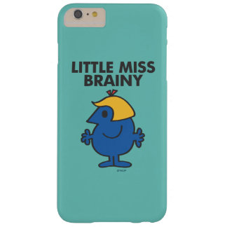 Little Miss Brainy Standing Still Barely There iPhone 6 Plus Case