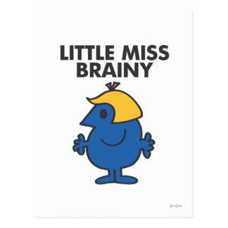 Little Miss Brainy Standing Still Postcard