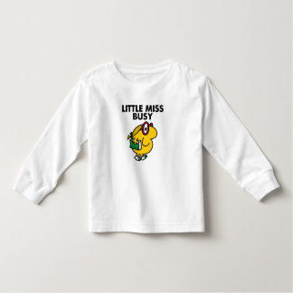 Little Miss Busy | Reading Time Toddler T-shirt