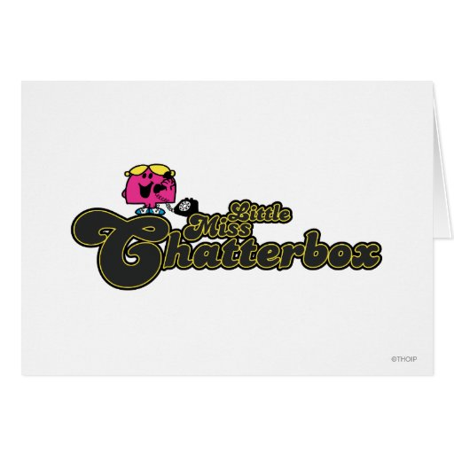 Little Miss Chatterbox 2 Cards