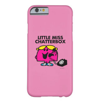 Little Miss Chatterbox & Black Telephone Barely There iPhone 6 Case