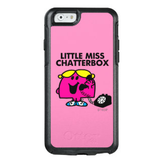 Little Miss Chatterbox & Black Telephone OtterBox iPhone 6/6s Case