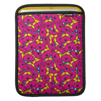 Little Miss Chatterbox | Bright Pink Pattern iPad Sleeve