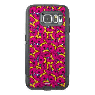 Little Miss Chatterbox   Bright Pink Pattern OtterBox Samsung Galaxy S6 Case