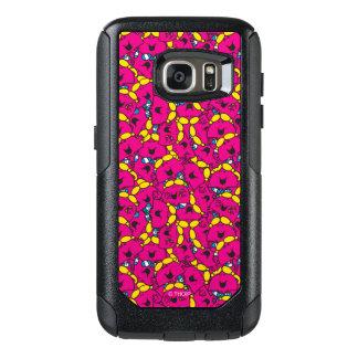 Little Miss Chatterbox | Bright Pink Pattern OtterBox Samsung Galaxy S7 Case
