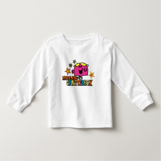 Little Miss Chatterbox & Colorful Stars Toddler T-shirt