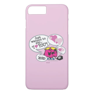 Little Miss Chatterbox Says I Love You iPhone 7 Plus Case