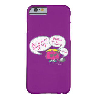 Little Miss Chatterbox & Telephone Barely There iPhone 6 Case