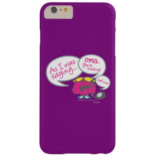 Little Miss Chatterbox & Telephone Barely There iPhone 6 Plus Case