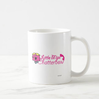 Little Miss Chatterbox | Telephone Cord Lettering Coffee Mug