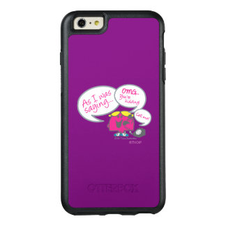 Little Miss Chatterbox & Telephone OtterBox iPhone 6/6s Plus Case