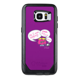 Little Miss Chatterbox & Telephone OtterBox Samsung Galaxy S7 Edge Case
