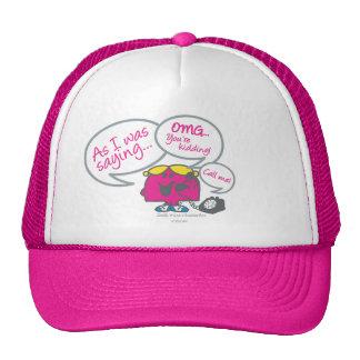 Little Miss Chatterbox & Telephone Trucker Hat