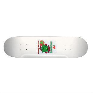 Little Miss Christmas   I Love Holidays Skateboard