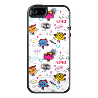 Little Miss Classic Pattern OtterBox iPhone 5/5s/SE Case