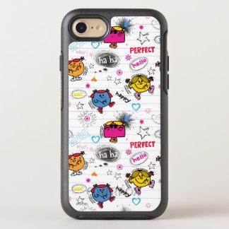 Little Miss Classic Pattern OtterBox Symmetry iPhone 7 Case