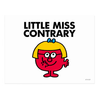 Little Miss Contrary Classic Postcards