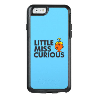 Little Miss Curious | Black Lettering OtterBox iPhone 6/6s Case