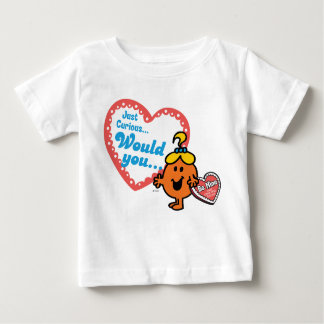 Little Miss Curious | Valentine Baby T-Shirt