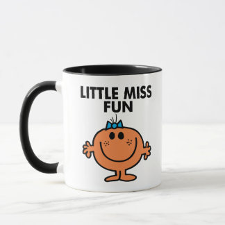 Little Miss Fun | Black Lettering Mug
