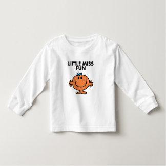Little Miss Fun | Black Lettering T Shirt