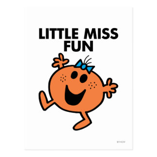 Little Miss Fun Classic 2 Post Cards
