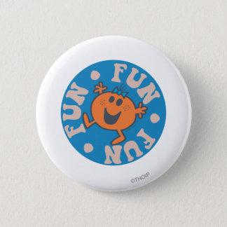 Little Miss Fun Fun Fun 2 Inch Round Button