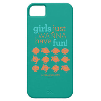 Little Miss Fun | Girls Just Wanna Have Fun iPhone 5 Cover