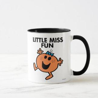 Little Miss Fun Waving Joyously