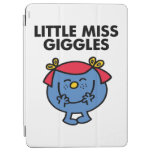 Little Miss Giggles | Black Lettering iPad Air Cover