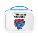 Little Miss Giggles | Black Lettering Lunch Box