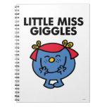 Little Miss Giggles | Black Lettering Note Books