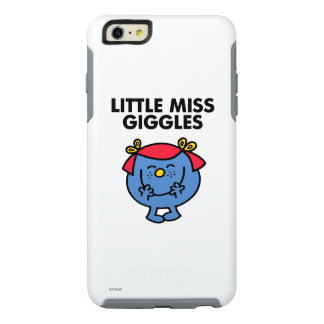 Little Miss Giggles | Black Lettering OtterBox iPhone 6/6s Plus Case
