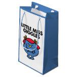 Little Miss Giggles | Black Lettering Small Gift Bag