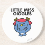 Little Miss Giggles Classic Coasters