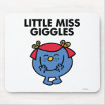 Little Miss Giggles Classic Mouse Pad