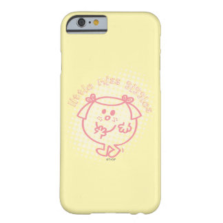 Little Miss Giggles | Pink Lettering Barely There iPhone 6 Case