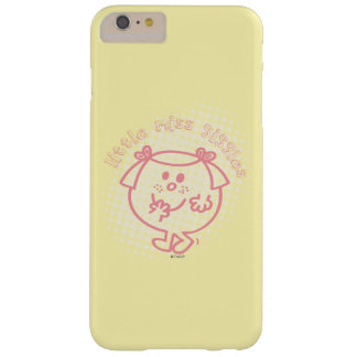 Little Miss Giggles | Pink Lettering Barely There iPhone 6 Plus Case