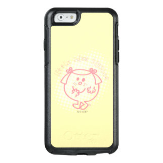 Little Miss Giggles | Pink Lettering OtterBox iPhone 6/6s Case