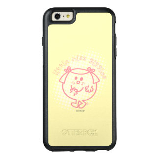 Little Miss Giggles | Pink Lettering OtterBox iPhone 6/6s Plus Case