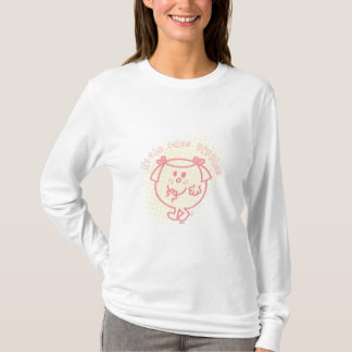 Little Miss Giggles | Pink Lettering T-Shirt
